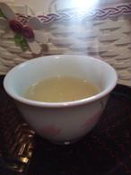 水冬のお茶