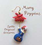 大人可愛い♪メリーポピンズの片耳ピアス