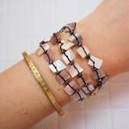Square Shell 3lined Bracelet 18385062