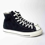 Convers 1970s Chuck Taylor All Star Suede HI BLACK