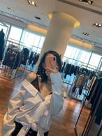 アルワンレーススリップシャツ シャツ レイヤード 韓国ファッション