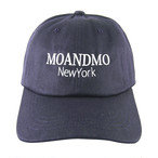 MOANDMO LOGO Twill Dad Cap / Navy