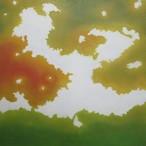 絵画 インテリア アートパネル 雑貨 壁掛け 置物 おしゃれ こもれび 木漏れ日 自然 風景 ロココロ 画家 : 馬見塚喜康 作品 : こもれび-Ⅹ