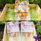 農家がつくった干果子『おらちーの』白桃2袋・黄金桃セット