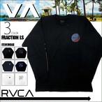 BA042059 ルーカ 新作 長袖 Tシャツ ロングスリーブ ロンT メンズ 通販 人気ブランド かっこいい おしゃれ ロゴ ブラック ネイビー ホワイト 黒 紺 白 RVCA