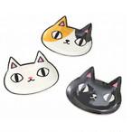 【猫3兄弟】顔小皿3枚セット