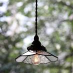 【照明】ステンドグラスペンダントランプ【1513】