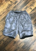 PIG&ROOSTER BEACH PILE SHORTS / BLACK