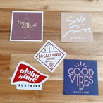 Sticker set - White