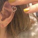 CHAIN earring M片耳 SILVER925 #1805