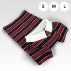 ポロシャツ(ワインレッド)