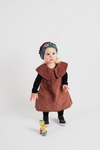 WOLF & RITA ウルフ&リタ BEATRIZ - DRESS & CULOTTES CORDUROY PALE PINK size:12-18m(90)