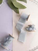 Dusty Blue(手染め手裂きタイプ) ■木製スプール付 ダスティブルー