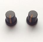 【マグネット】シンセツマミ型マグネット 黒×オレンジ Synth Knob Magnet SKM