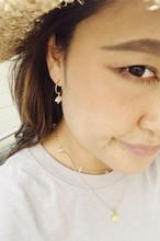 Brown Topaz  Necklace ブラウントパーズネックレス