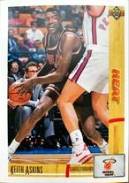 NBAカード 91-92UPPERDECK Keith Askins #130 HEAT