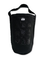 TATTOO FLASH CANVAS BIG  BAG black