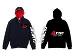 ATTIC/GLAUCOSパーカー