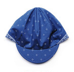 cross bandana cap  col.navy