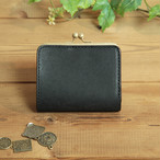 【新作】小さい がま口財布 / ブラック
