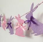 うさぎさんバナー 誕生日  1歳 赤ちゃん ベビー 飾り 装飾 飾り付け プレゼント バースデー