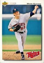 MLBカード 92UPPERDECK Mark Guthrie #604 TWINS