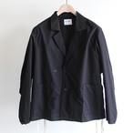 H.UNIT【 mens 】cotton linen kersey easy jacket
