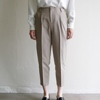 dolly-sean  【 womens 】check tapered pants