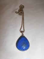 ラピスラズリーネックレス(ビンテージ) vintage necklace(lapis lzuli)