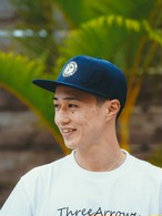 【4/28(WED)20:00 販売開始】ALOHA SURF スナップバック CAP(navy)