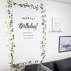 お誕生日にバースデータペストリー【90cm×160cm】誕生日 飾り付け 飾付け 飾り Happy Birthday baby ベビー キッズ お家スタジオ 撮影アイテム インスタ映え