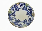 陶器 5寸平皿 (室生窯)