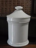 昭和初期薬瓶 薬壺 白無地 陶器 メディシンボトル 非常に希少です。