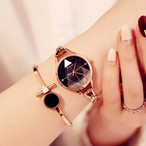 Kimio AF-6278(Black) レディース腕時計