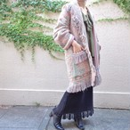 Fringe tapestry gown/フリンジ タペストリー ガウン