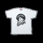K'rooklyn T-Shirt × 上岡 拓也 ZELDA HARRIS - White