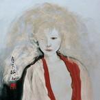 絵画 インテリア アートパネル 雑貨 壁掛け 置物 おしゃれ 和風アート 和 美人画 水彩画 染色画 アクリル画 ロココロ 画家 : 中島月下村 作品 : Doll - ryo1