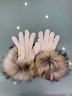 ファー付きグローブ (手袋)