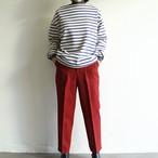 PARLMASEL  【 womens 】wool-like baker pants