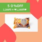 【SALE_50%OFF】ポーチ_マーブルウェーブ ゴーギャンオレンジ