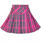 《school collection》Skirt Pink Tartan (送料無料)