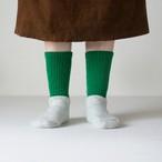 ▲発送予定 10月下旬〜11月上旬▲G-16 マグロ漁船の靴下 二足組 緑