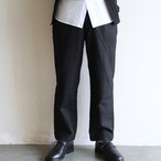 STILL BY HAND【 mens 】wool flano wasy pants