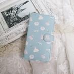 ジゼル〜白のバレエ*手帳型スマホケース