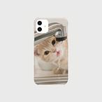 水を飲む子猫のiphoneスマートフォンケース【送料無料】