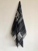 オレリーマティゴ   メゾン モノ 大判シルクシフォン スカーフ 110センチx110センチ
