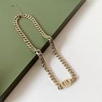 チェーン シンプル クール ネックレス 2色 B5080