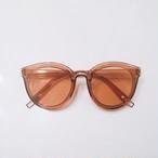 Eyewear♡ウェリントン02 ブラウン
