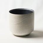 Wide cylinder pot(sand scape)