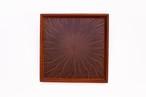 MORADO 光線貼り正方形のトレー 0320